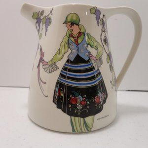Vintage Villeroy & Boch 20 oz Pitcher Design 1900